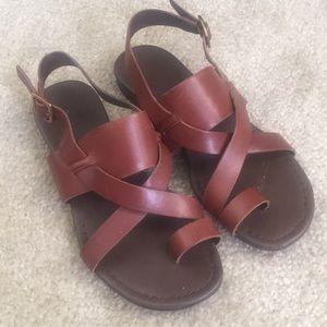 Franco Sarto Gia gladiator sandals